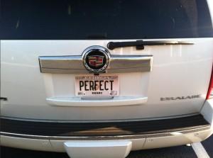 Perfect Car Tag