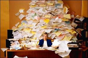 Overwhelming task