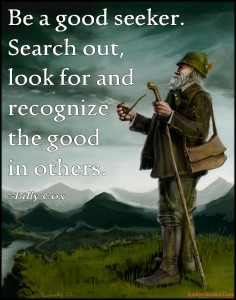 Good in others