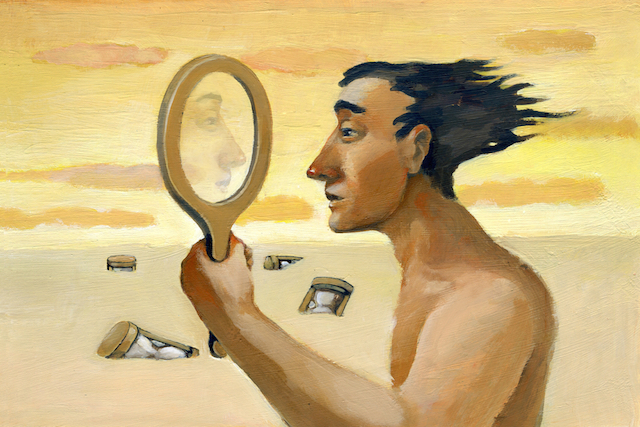 Image result for looking in mirror