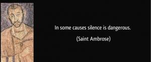Silence is Dangerous