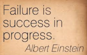 Failure and Progress