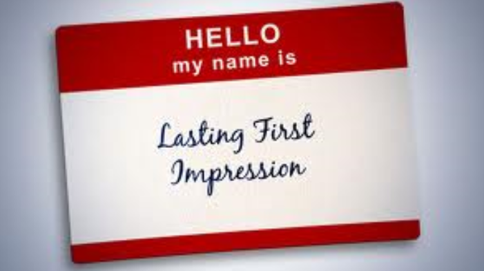 You Have One Chance At A First Impression