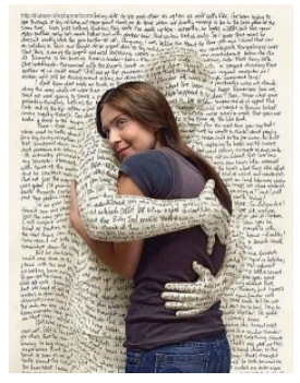 """Words are so powerful.  Get wrapped up in the arms of a good book."" Jedediah Grant"