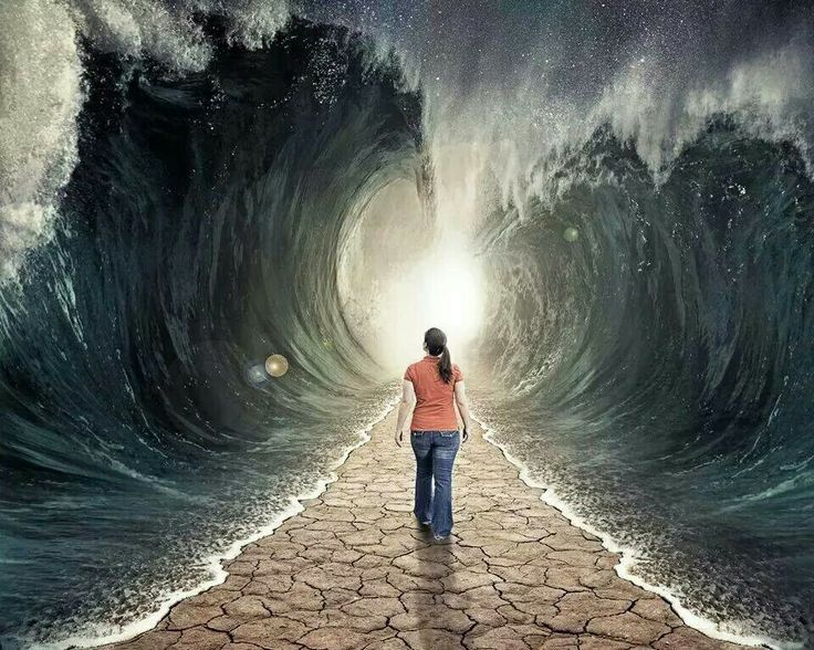 """You may have awakened this morning to to the thoughts, """"There is NO SOLUTION to resolve my problem, there are NO ANSWERS for my questions and there is NO WAY out of this mess."""" God is creating a specific path for you that NO ONE has seen before. From Psalm 77 - """"Your road led by a pathway through the sea -- a pathway NO ONE knew was there."""""""